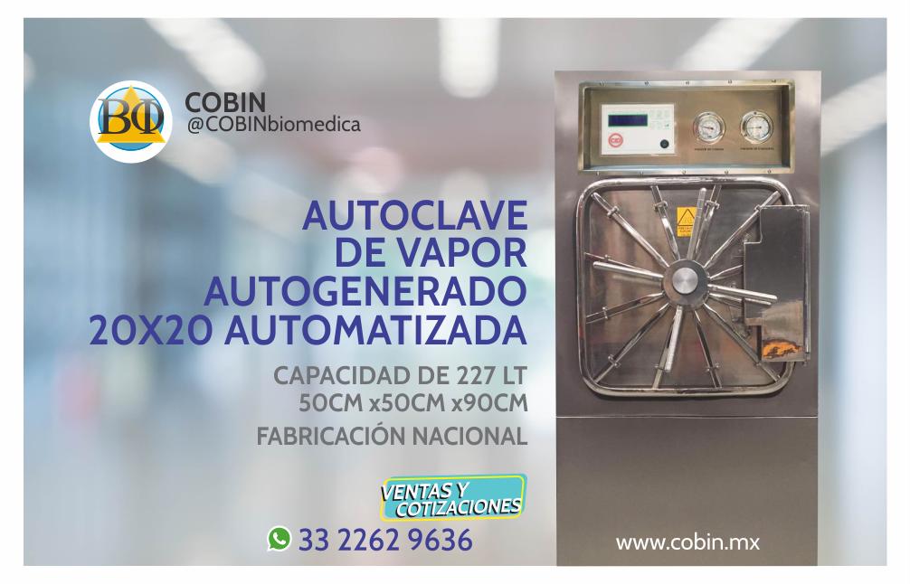 Autoclave Automatizada 227 lt