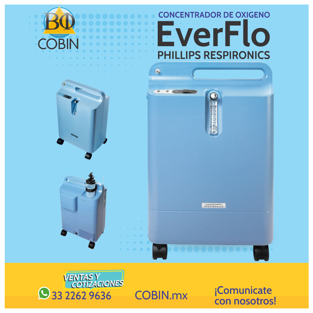 Concentrador de Oxigeno Everflo Phillips
